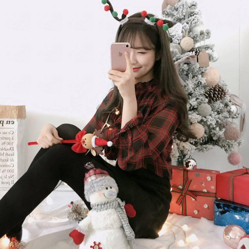 แต่งตัววันคริสต์มาสกับไอเทมเสริมน่ารักๆ