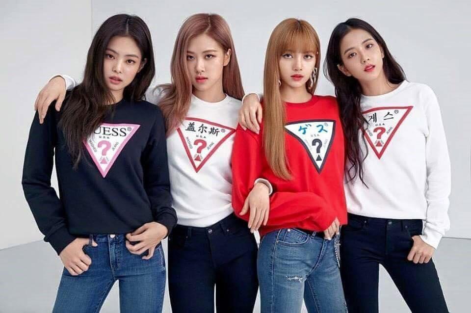 เสื้อ Guess กับเกิร์ลกรุ๊ปเกาหลี