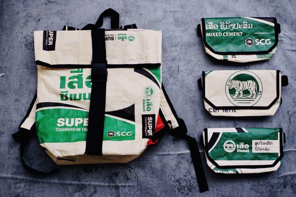 แฟชั่นตราเสือ(Tiger Brand)จากถุงปูน