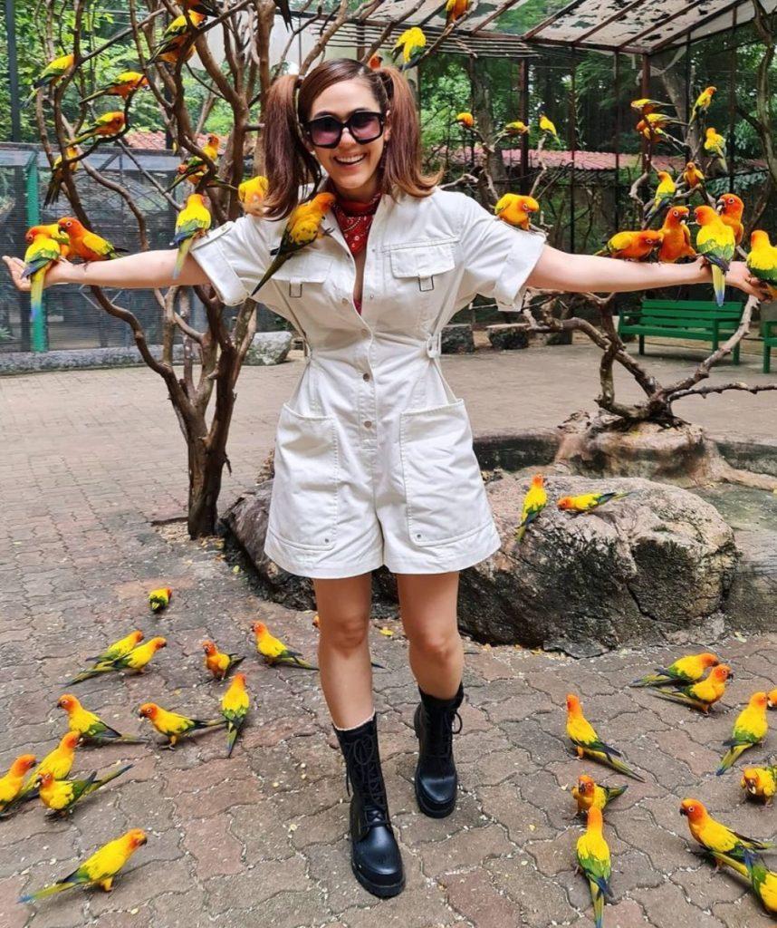 ชุดไปเที่ยวสวนสัตว์ แบบแม่ชม