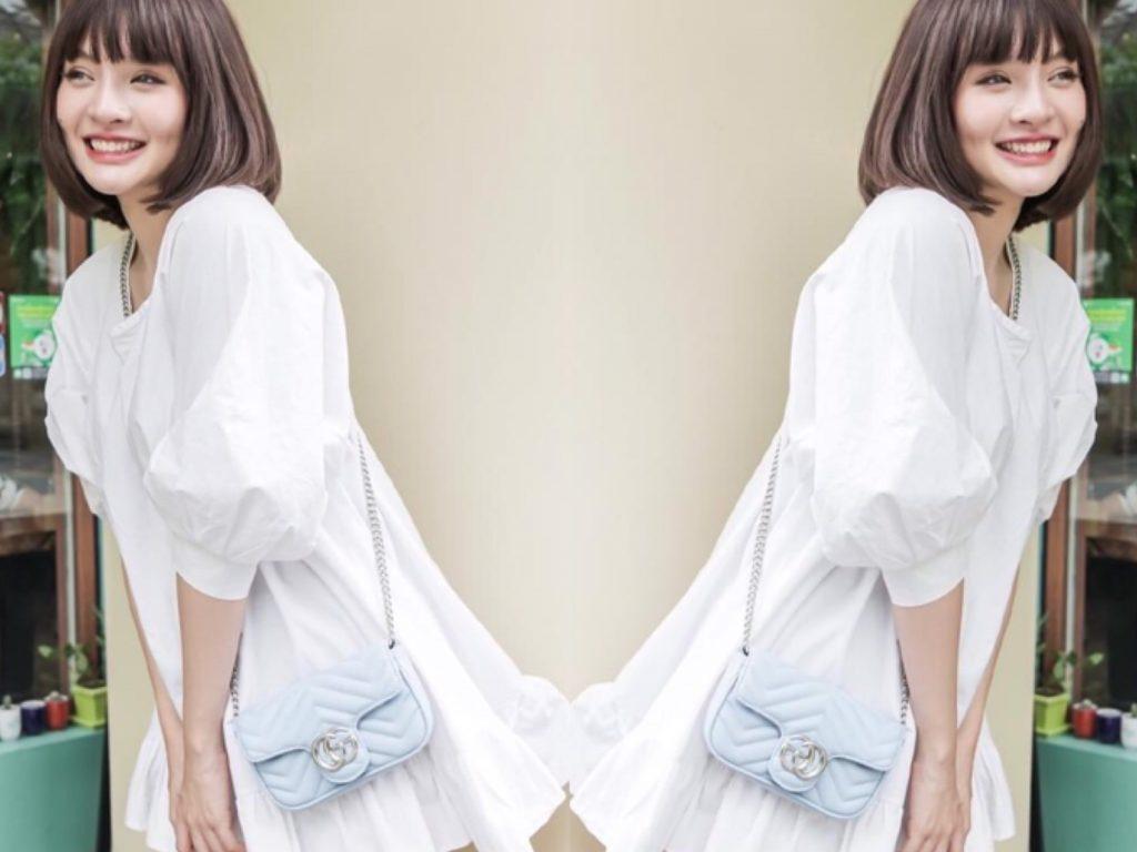 สะพายกระเป๋ากุชชี่ Gucci -(สายโซ่) แบบที่ 1 สะพายสายยาวแบบครอสบอดี้