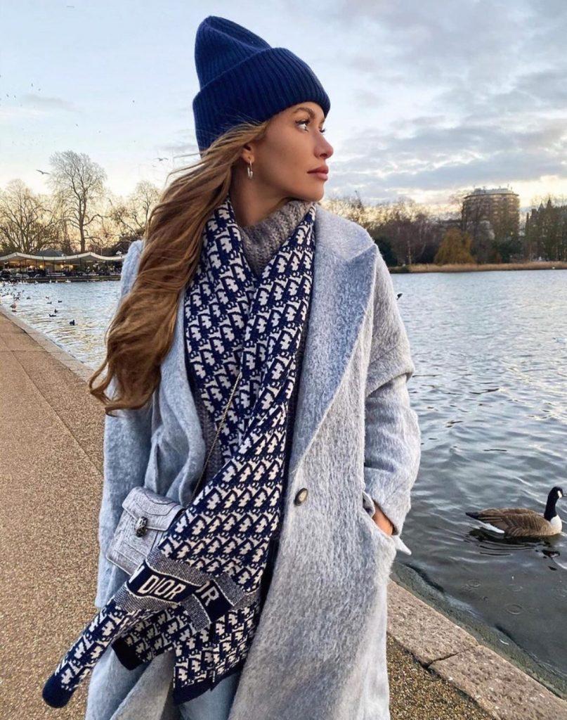 แฟชั่นหน้าหนาว Dior 2020 กับผ้าพันคอสวยๆ