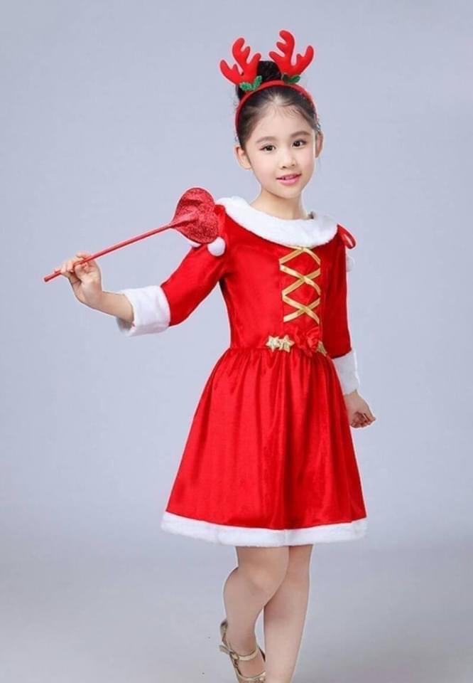 ชุดคริสต์มาสเด็ก น่ารักสดใส