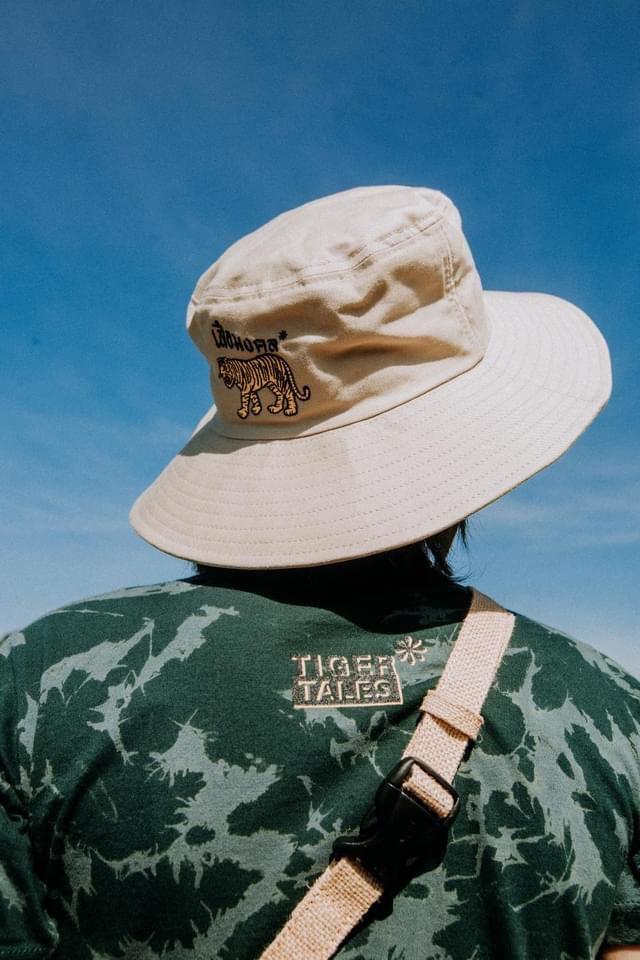 แฟชั่นตราเสือ(Tiger Brand)หมวกบังแดดแบบเท่ๆ