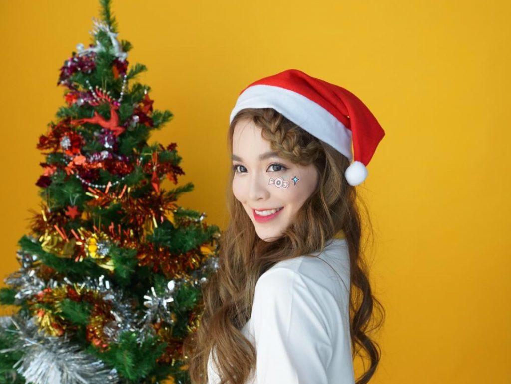 ทรงผมวันคริสต์มาส แบบง่ายๆ แต่สวย
