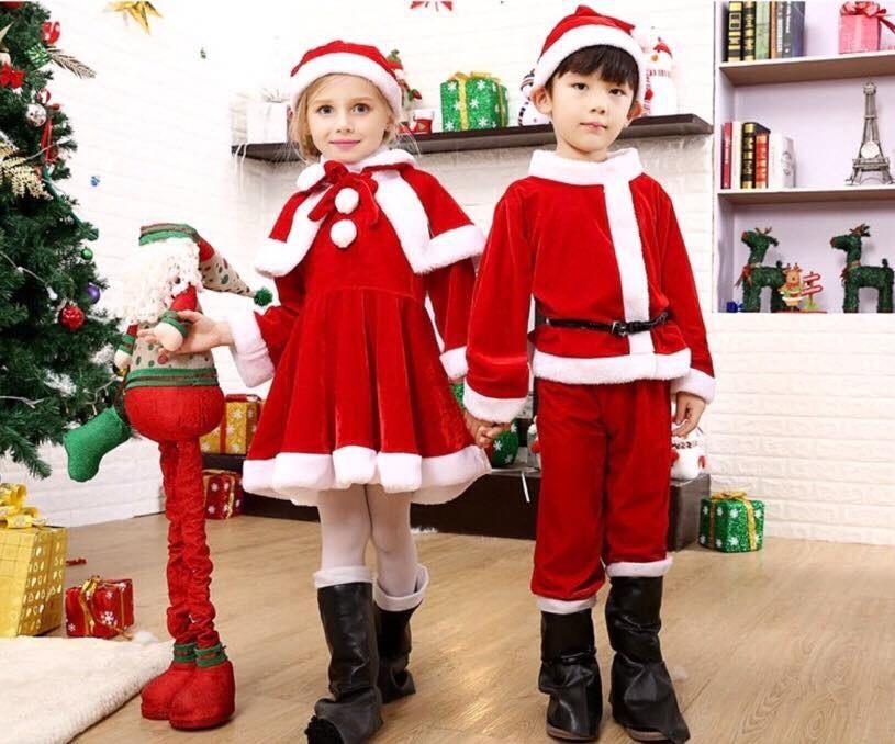 ชุดคริสต์มาสเด็ก 2020 สวยน่าใส