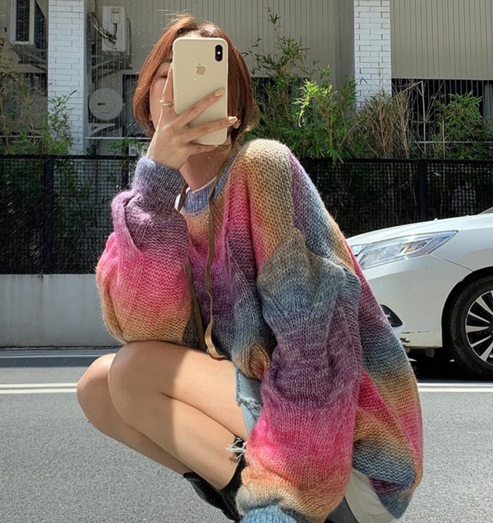 เสื้อกันหนาวสีสดใส สาวสไตล์ไหนก็ใส่ได้