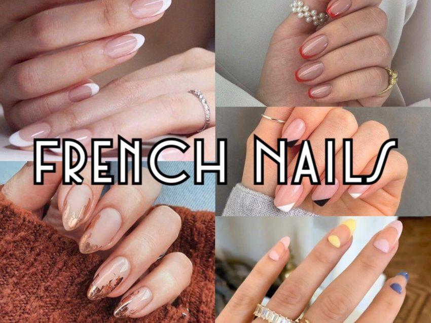 ไอเดียทำเล็บสไตล์ French Nails การเพ้นท์ปลายเล็บ ได้เล็บสวยแบบเรียบๆ แต่หรู