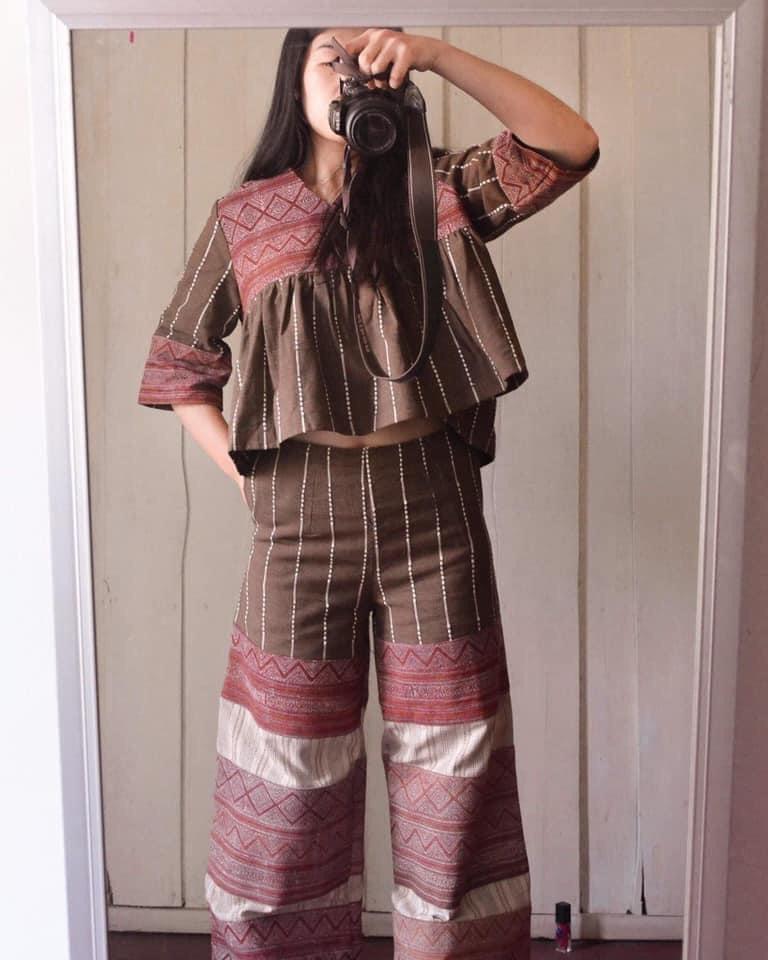 แต่งตัวเที่ยวเหนือด้วยชุดผ้าไทยพื้นเมืองเหนือ