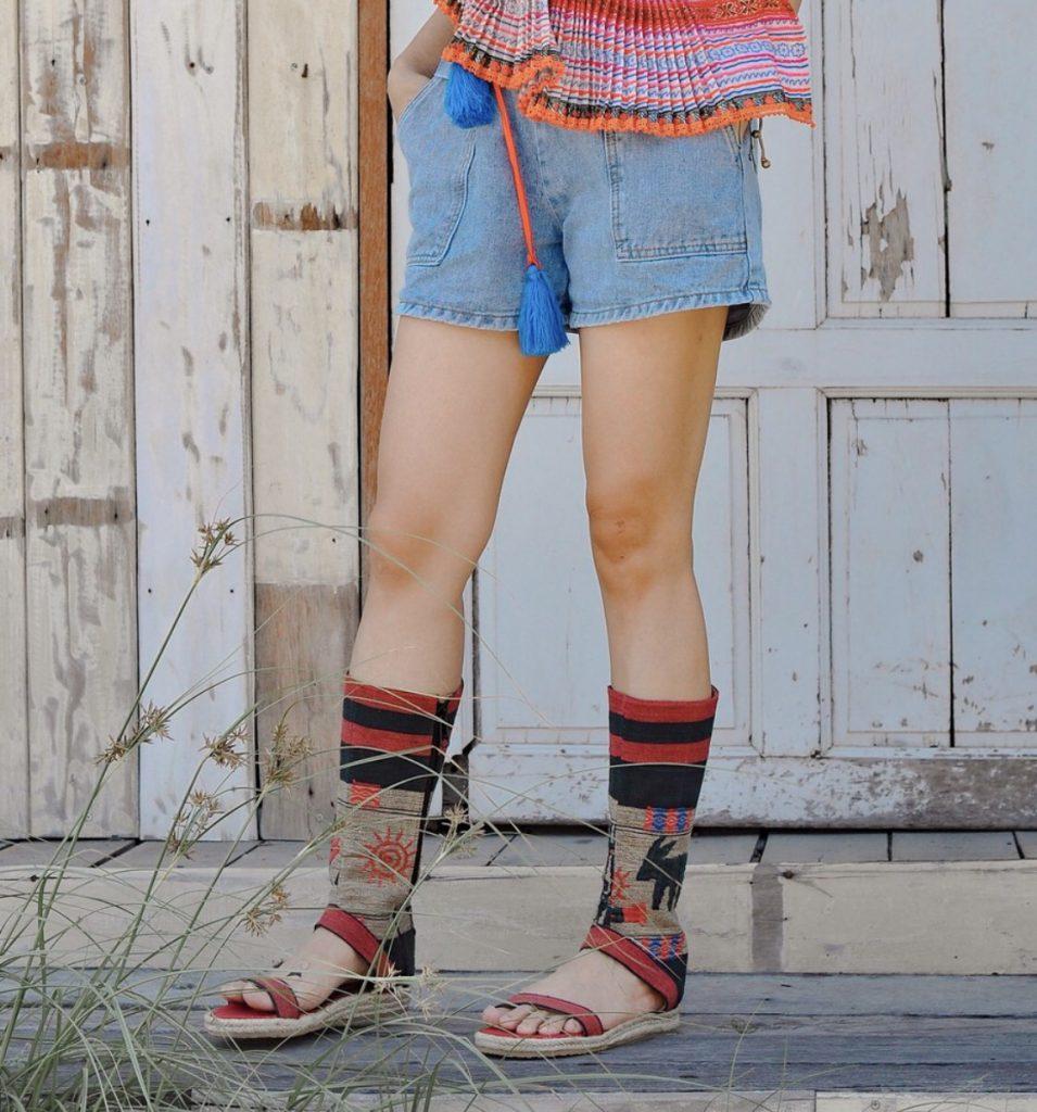 รองเท้าบูทโบฮีเมียนสวยเท่ใส่สลาย