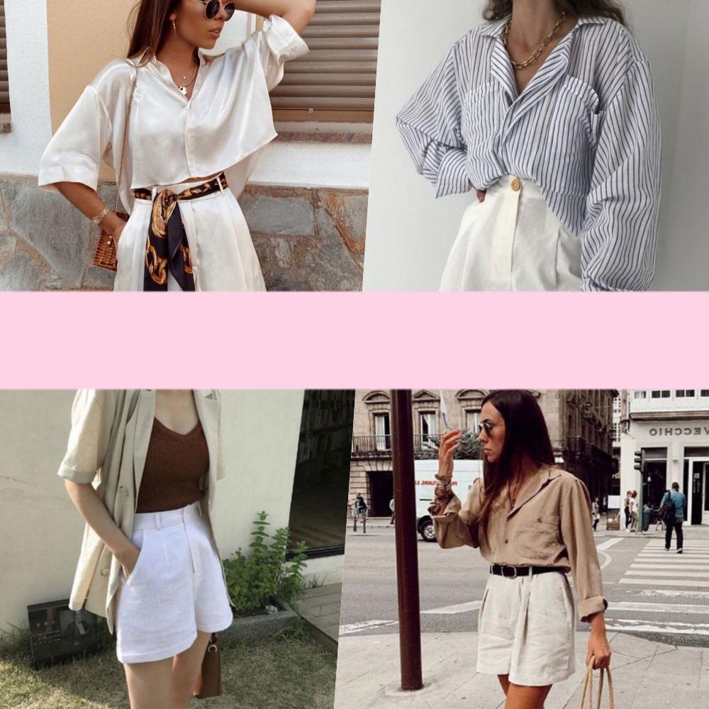 แต่งตัวด้วยเสื้อเชิ้ต กับกางเกงผ้า ออกจากบ้านด้วยความสวยแบบง่ายๆ