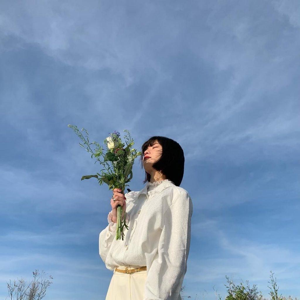 ไอเดียถ่ายรูปกับท้องฟ้ากับดอกไม้สวยๆ