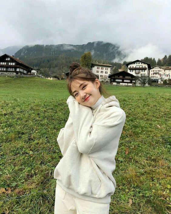 ถ่ายรูปบนภูเขา-บนดอย แบบน่ารักๆ