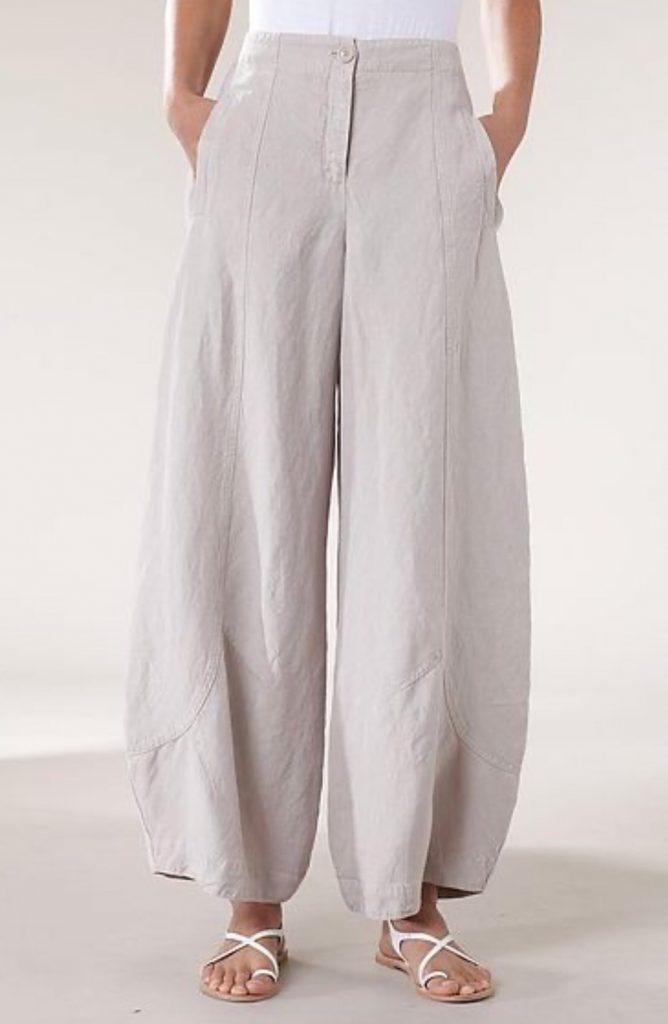 กางเกงแฟชั่นผ้าลินิน ใส่สบายได้หลายโอกาส