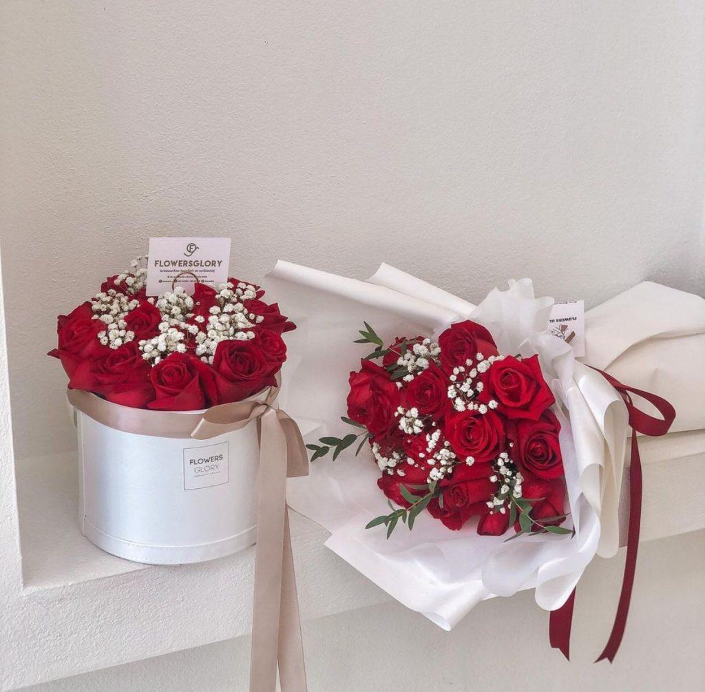 ช่อดอกไม้วาเลนไทน์สวยๆ ที่สามารถหามาให้คนที่เรารักได้
