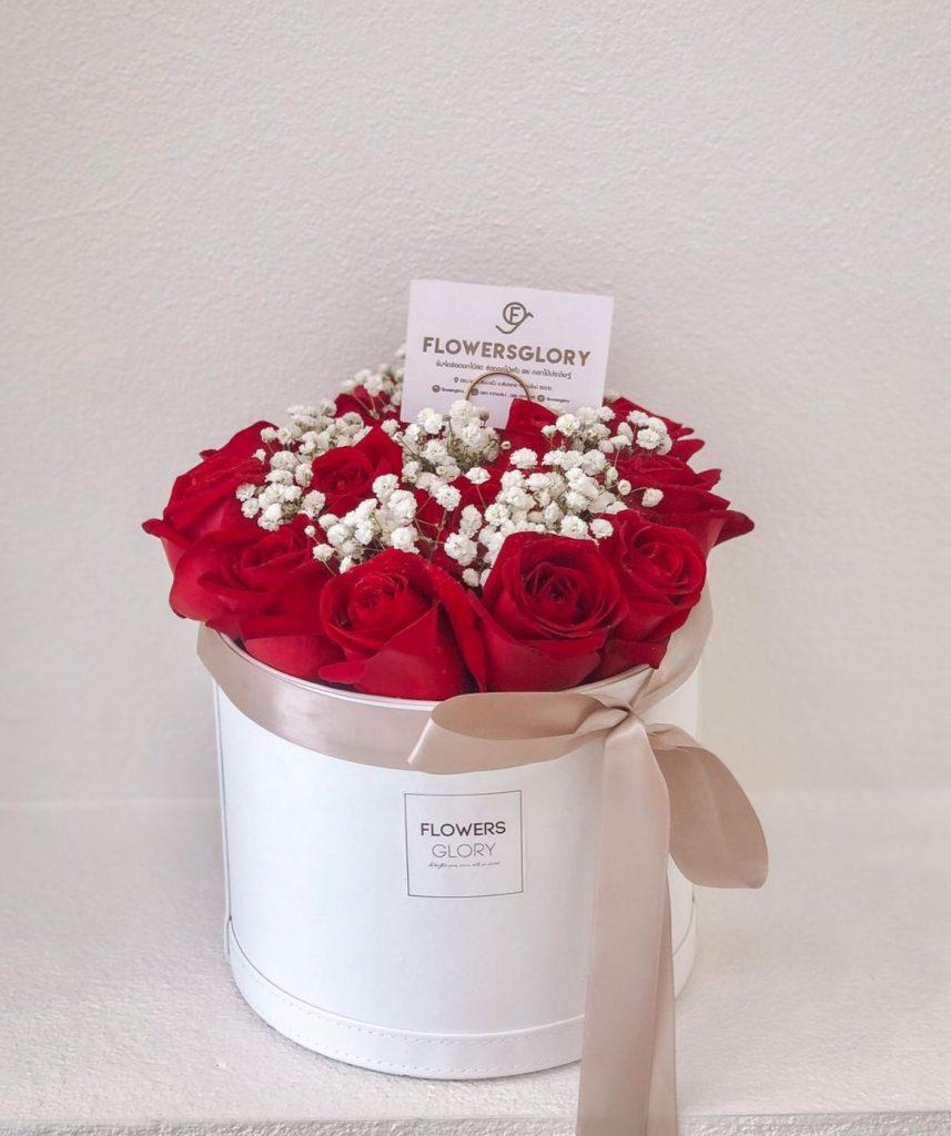 ช่อดอกไม้วาเลนไทน์สื่อบอกรักที่ดีที่สุด
