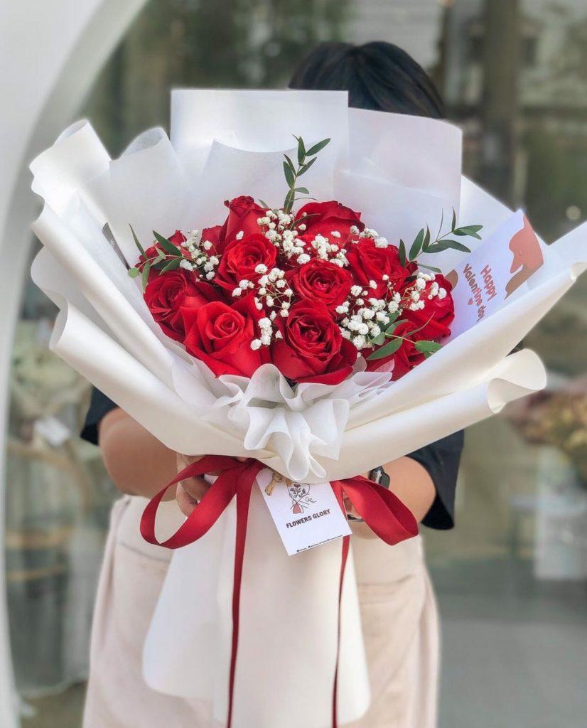 ช่อดอกไม้วาเลนไทน์สวยๆเหมาะกับการให้ทั้งผู้หญิงและผู้ชาย