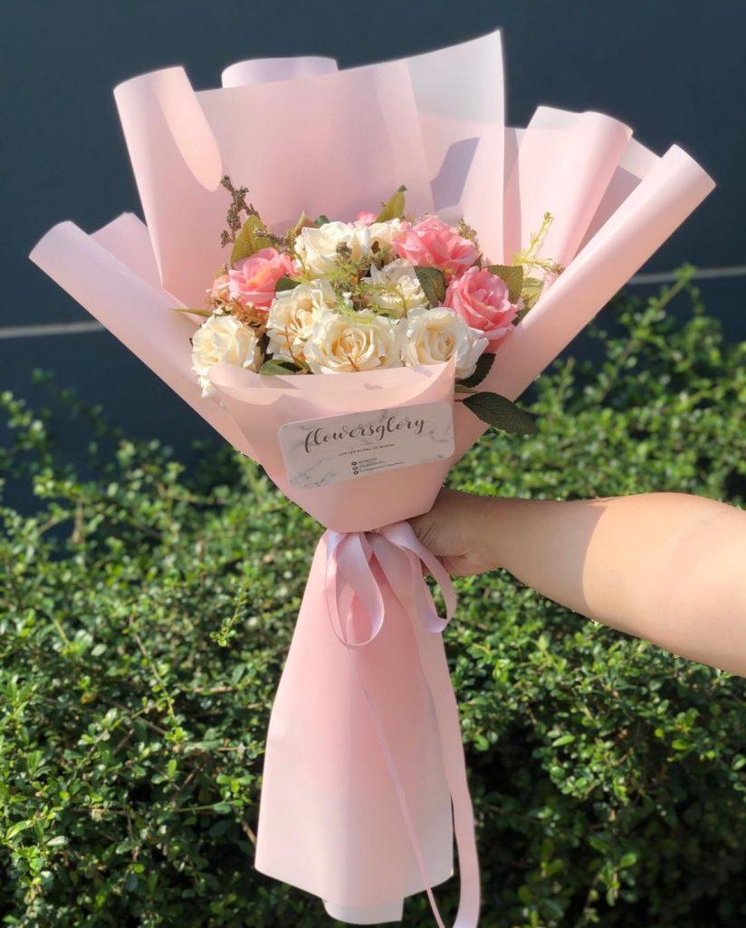 ช่อดอกไม้วาเลนไทน์ สีหวาน ได้ใจสุดๆ