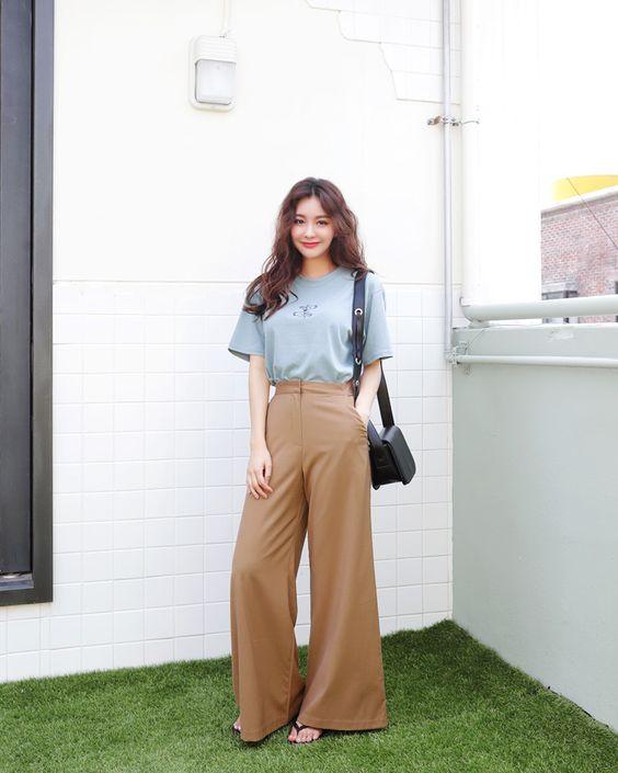 กางเกง Earth tone colour