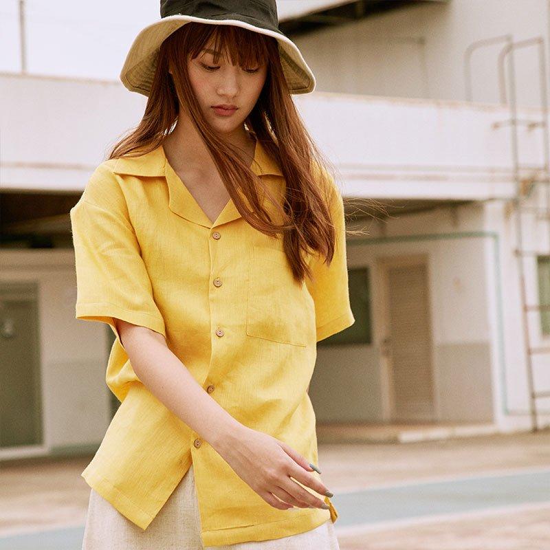 แฟชั่นสีเหลืองกับเสื้อเชิ้ต นำเทรนด์สุดๆ