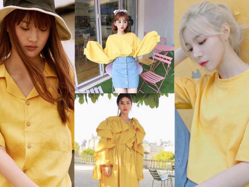"""แฟชั่นสีเหลือง """"YELLOW"""" สุดคิ้วท์ น่ารักแสนซน ต้อนรับหน้าร้อน"""