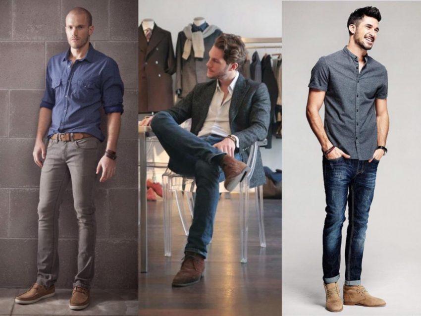 แฟชั่นกางเกงยีนส์ในชุดทำงาน
